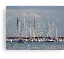 Mainstays and masts ... Canvas Print