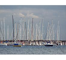 Mainstays and masts ... Photographic Print