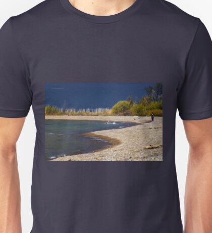 Dog Day at the Beach Unisex T-Shirt