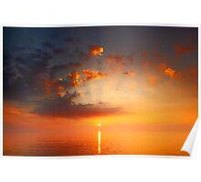Monet Sunrise Poster