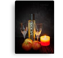 Chic and Wine Canvas Print