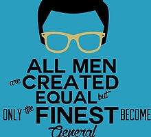 All Men Are Created Equal But Only The Finest Become General MANAGER by birthdaytees