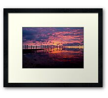 First Light... Framed Print