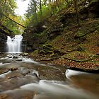 Big Falls II (Autumn) by Tim Devine