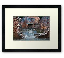 Open Hearth Framed Print