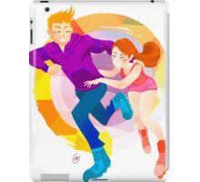 Community: Jeff & Annie Roller-Skating iPad Case/Skin