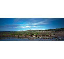 Dunstanburgh Castle panorama Photographic Print