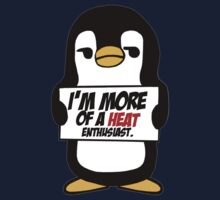 Sarcastic Penguin - The Heat by AlexNoir