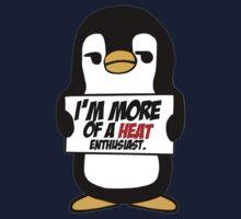Sarcastic Penguin - The Heat by AlexNoir