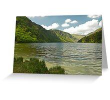Upper Lake at Glendalough Greeting Card