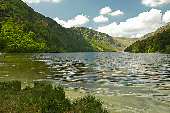 Upper Lake at Glendalough by Martina Fagan