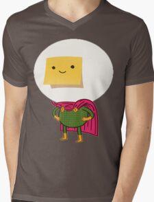 Sticky Note Mysterio Mens V-Neck T-Shirt