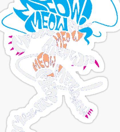 Felicia Typography Sticker