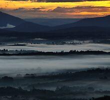 Misty Sunrise by Robyn Lakeman