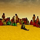 The Colors of Rajasthan and Sam Sand Dunes by Mukesh Srivastava