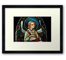Melancholy Angel Framed Print