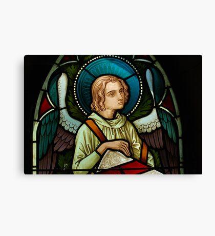 Melancholy Angel Canvas Print