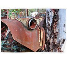 Rusted - Hill End NSW Australia Poster