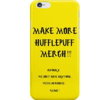 HUFFLEPUFF PROTEST VERSION 1 iPhone Case/Skin