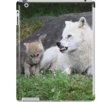 I told you Momma is tired iPad Case/Skin