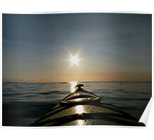 Eastcoast morning paddle Poster