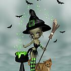 Little Witchy by LoneAngel