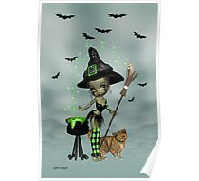 Little Witchy Poster