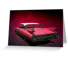 1959 Cadillac Series 62 Hardtop Greeting Card