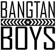BTS/Bangtan Boys - Military Style Photographic Print