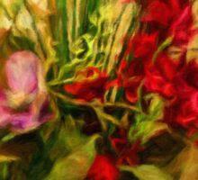 Floral Study #1 Sticker