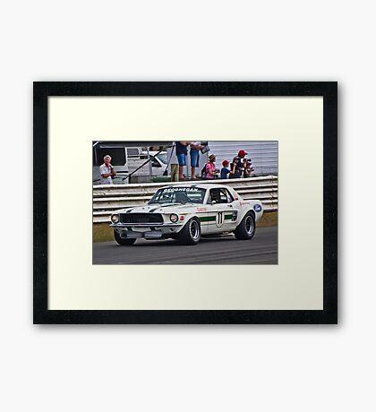 Pete Geoghegan 67 Ford Mustang GTA Framed Print