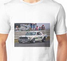 Pete Geoghegan 67 Ford Mustang GTA Unisex T-Shirt