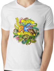 Team Raptor. By Ane Teruel. Mens V-Neck T-Shirt