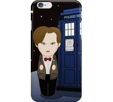 Kokeshi 11th Dr. Who iPhone Case/Skin