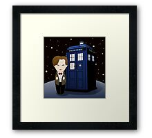 Kokeshi 11th Dr. Who Framed Print