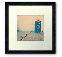 photography love. Framed Print