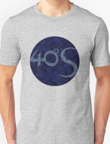 Darkmoon - Fourty Degrees South logo Unisex T-Shirt