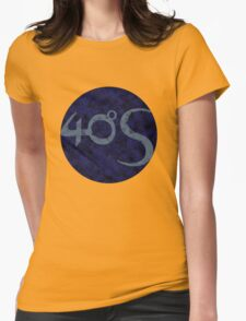 Darkmoon - Fourty Degrees South logo Womens Fitted T-Shirt