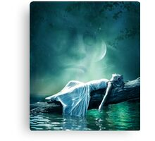 Dreams and fantasy : the Evening star Canvas Print