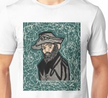 Mystery Man in the Beard Unisex T-Shirt