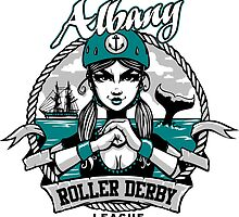 Albany Roller Derby League Logo by ARDL