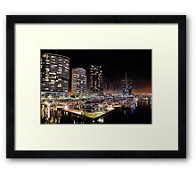 Docklands Framed Print