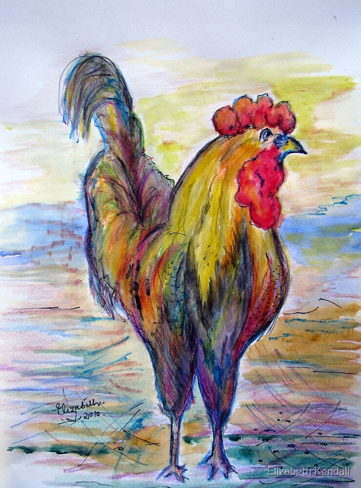 """Cookedoodeldoo""!!! by Elizabeth Kendall"