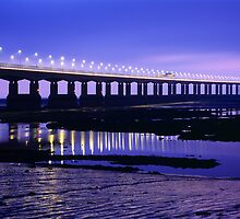 Second Severn Crossing, Gloucestershire by Craig Joiner