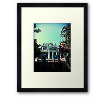 Haunted Mansion Holiday - Nightmare Before Christmas Framed Print