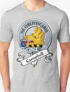 00014 Campbell Clan Tartan  Unisex T-Shirt