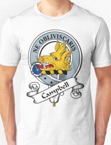 00014 Campbell Clan Tartan  T-Shirt