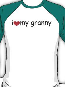 I love my Granny T-Shirt