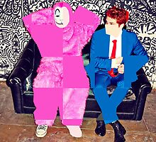 Gerard Way and Lola by Jrs1998