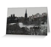 Grey day Greeting Card